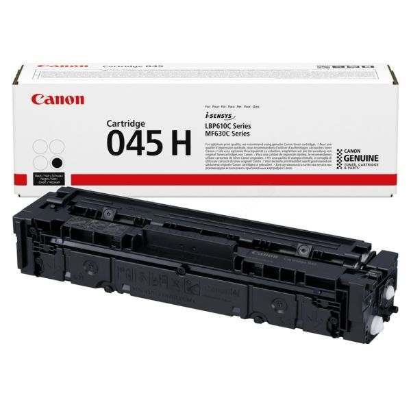 Canon 045H High Yield Black Toner Cartridge
