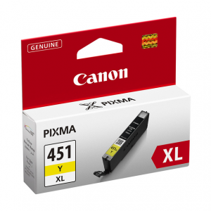 Canon CLI-451XL Yellow Ink Cartridge