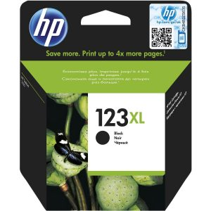HP 123XL Black Extra Large Original Ink Cartridge