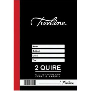 Counter Book, A4, 192 Pages, 2 Quire, Feint and Margin
