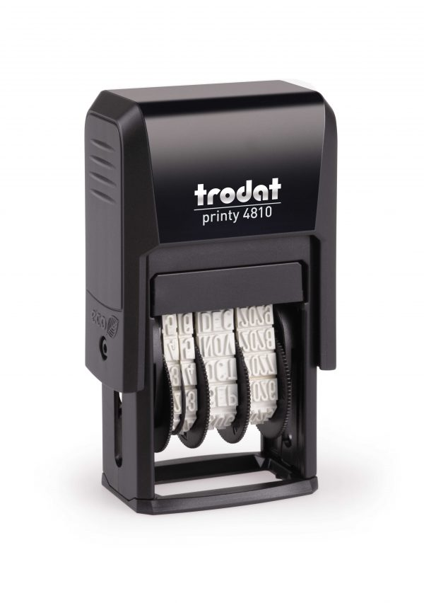 Trodat 4810 Self-Inking Dater Stamp
