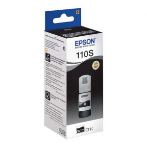 Epson 110s EcoTank 40ml Pigment Black Ink Bottle