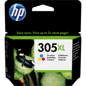 HP 305XL High Yield Tri-color Original Ink Cartridge